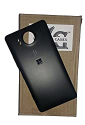 Wise Guys Battery Back Door Panel Replacement Cover for Microsoft Lumia 950 - Black