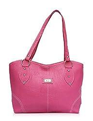 Vintage Stylish Ladies Handbag Pink(bag 62)