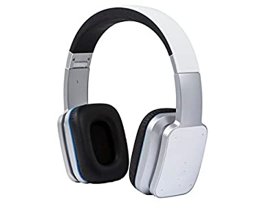 Bluetooth On-the-Ear Headphones with aptX, NFC, and Built-in Microphone- White By:MP