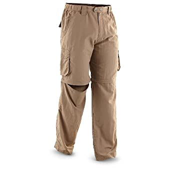 Natural Gear Switchback Pants, KHAKI, M