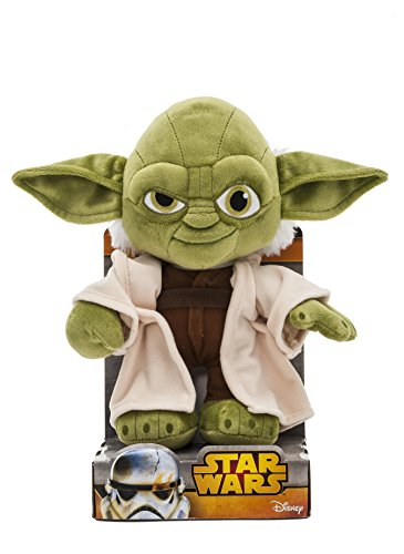 Star Wars 1400617 - Yoda Peluche in Unique Velboa, 25 cm in Displaybox