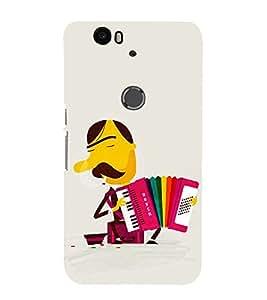EPICCASE Painoaccordian Mobile Back Case Cover For Huawei Nexus 6P (Designer Case)
