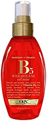 OGX Moisture + Vitamin B 5 Weightless Oil Mist 118ml