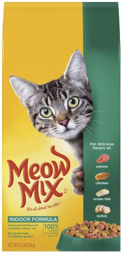 See Meow Mix Indoor Formula Dry Cat Food, 14.2-Pound