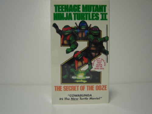 Teenage Mutant Ninja Turtles II - The Secret of the Ooze [VHS] - 1