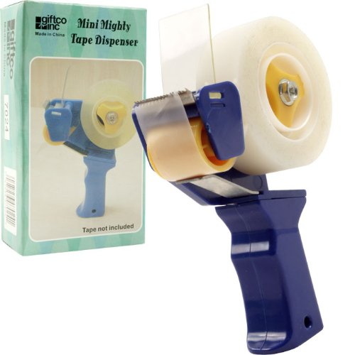 Trademark Global 80-60421 Mini Mighty Tape Dispenser - Great For Gift Wrapping