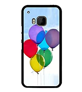 Colourful Balloons 2D Hard Polycarbonate Designer Back Case Cover for HTC One M9 :: HTC One M9S :: HTC M9 :: HTC One Hima