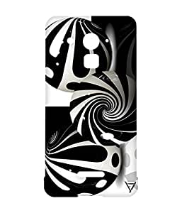 Vogueshell Black and White Pattern Printed Symmetry PRO Series Hard Back Case for Coolpad Note 3 Plus