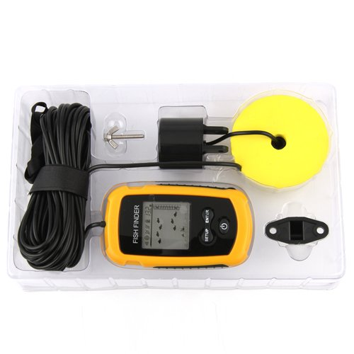 100M Portable Sonar Sensor Water Depth Ice Fish