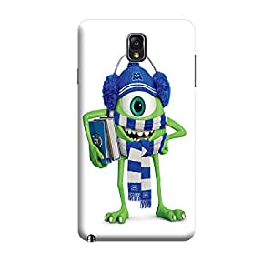 CaseLite Premium Printed Mobile Back Case Cover With Full protection For Samsung Note 3 (Designer Case)