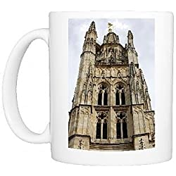 Photo Mug of Pey Berland tower, Bordeaux, Gironde, Aquitaine, France, Europe