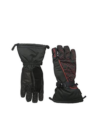 SPYDER Guanti da Sci Overweb Gore-Tex Ski Glove [Nero/Bianco]