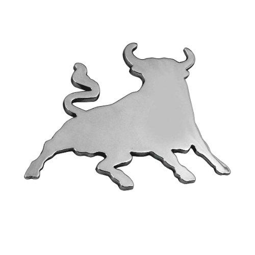 3D07207-Chrome-3D-emblme-de-la-voiture-auto-adhsif-logo-caractres-3M-auto-adhsif-Toro-Bull
