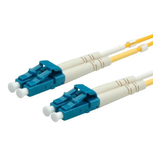 VALUE LWL-Kabel 9/125µm LC/LC gelb 1m