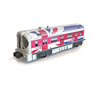 Train Motorized Train Engine Set Wave 2 - London Subway: Toys & Games