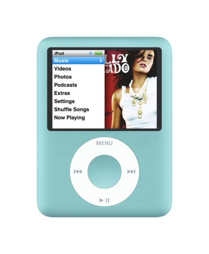 Apple iPod nano 8 GB Blue (3rd Generation) OLD MODEL