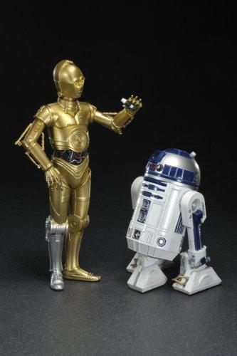 スター・ウォーズ ARTFX+ R2-D2 & C-3PO (1/10スケール PVC塗装済み簡易組立キット)