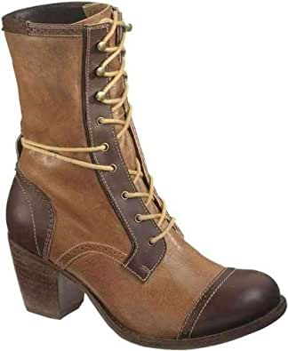 Amazon.com: Caterpillar Women's Stella Boot,Brown,5 M US: Shoes