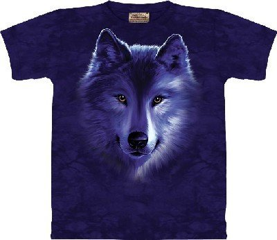 The Mountain Wolf Fade T-Shirt Xxl front-572091