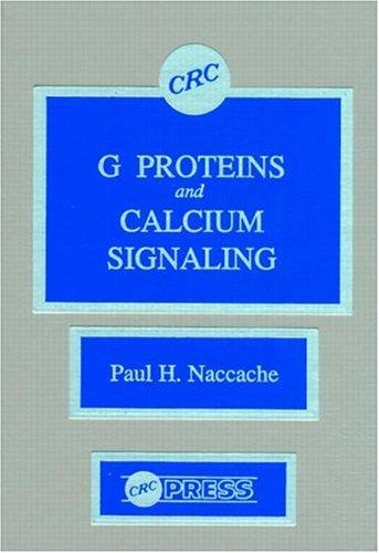 G Proteins And Calcium Signaling