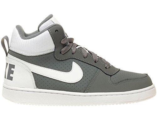 Nike Uomo Court Borough Mid (Gs) scarpe da basket grigio Size: 39