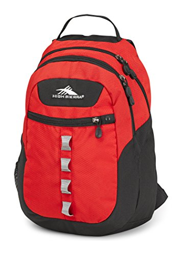 High Sierra Opie Backpack, Crimson/Black