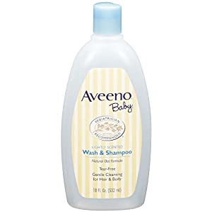 Aveeno Baby Wash & Shampoo, 18-Fluid Ounces Bottle