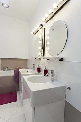 Cute Mobile Home Bathroom Remodeling Ideas Tiny All Glass Bathroom Mirrors Clean Steam Bath Unit Kolkata Design Elements Bathroom Vanities Young Axor Bathroom Sink Faucets DarkMajestic Kitchen And Bath Nj Reviews 40 Watt Equivalent 3 Pack, LED G25 Globe Light Bulbs, Non Dimmable ..