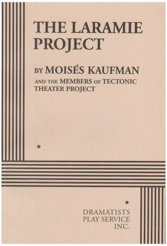 laramie project essays The laramie project is a verbatim, documentary style play from the perspective of  a real theatre troupe (the tectonic theater project) in 1998.