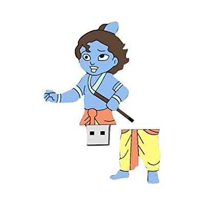 Zeztee 16 GB Pen Drive USB 2.0 Bal Krishna Cartoon Character Shape Pen Drive ZT13987