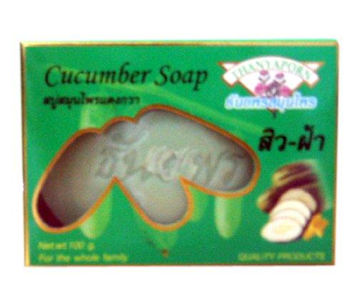6X Cucumber Soap 100G.