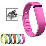Mofun Aktivität- und Schlaf-Armband Wristband für Fitbit Flex mit Clasp ohne Tracker Klein
