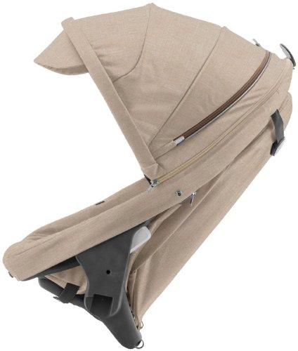 Stokke Crusi Sibling Seat - Beige Melange front-1043085