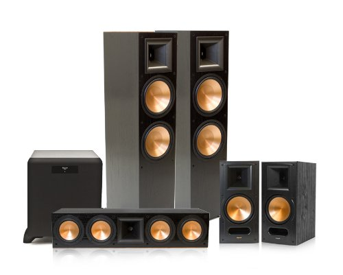 Klipsch Rf-7 Ii Reference Series 5.1 Home Theater System With Sw-450 Subwoofer (Black)