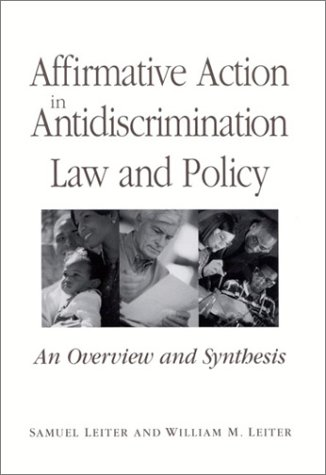 Affirmative Action in Antidiscrimination Law and Policy (SUNY Series in American Constitutionalism) PDF