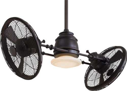 Minka Aire F802-KA Vintage Gyro 42 Inch Ceiling Fan, Kocoa