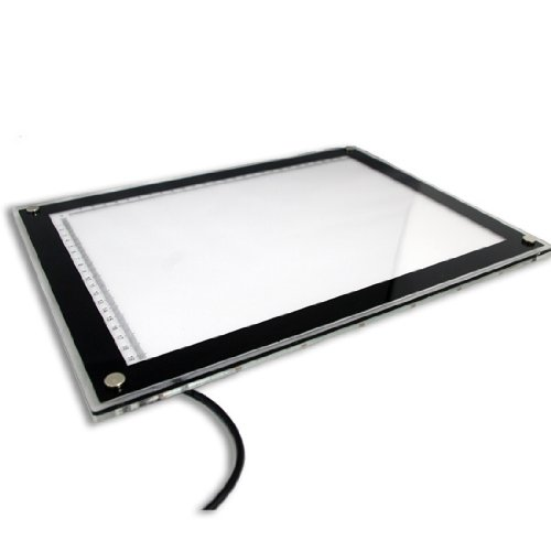 New Pro Seires LED A4 Ulta Thin Tattoo Light Box Stencil Tracing Table pro svet light mini par led 312 ir