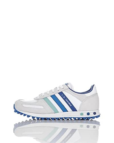 adidas Scarpa La Trainer K [Bianco/Blu]