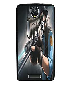 Techno Gadgets Back Cover for Panasonic P50