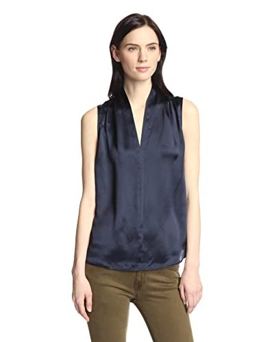 GANT Women's Silk V-Neck Top
