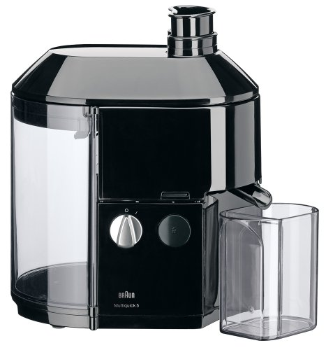 Braun Mp 80 600-Watt Professional Juice Extractor, 220-Volt, Black
