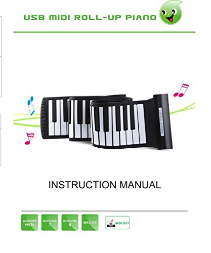 Flexible Roll Up Electronic Soft Keyboard Piano 49 Keys