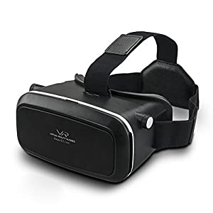 VR Glasses,Shareconn 3D VR Virtual Reality Headset Viewer Glasses with Adjustable Strap Compatible with 4~6 Inch Smartphones for 3D Movies and Games from Shareconn
