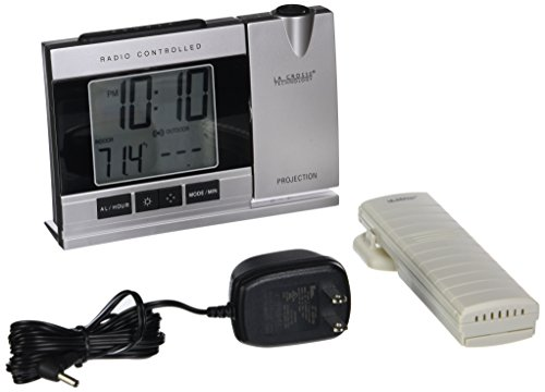 Projection Alarm Clock with Temperature