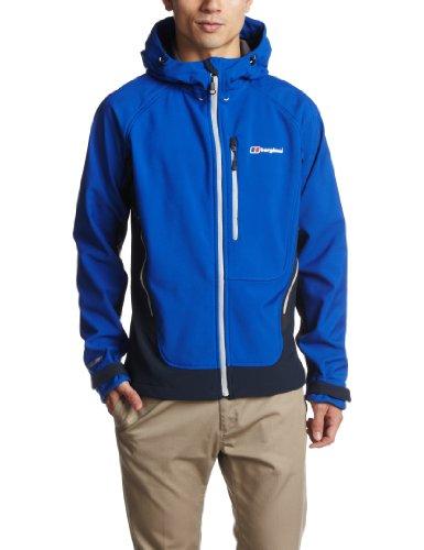 BERGHAUS Men's Breton Softshell Jacket, Blue, S