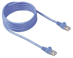 TRIPP LITE cat5e 7ft grey crossover cable molded
