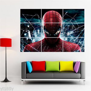 Bingirl Giant Poster Huge Print The Amazing Spider Man 2 Wall Art Deco
