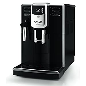 Gaggia Anima Coffee and Espresso Machine, Includes Steam Wand for Manual Frothing for Lattes and Cappuccinos with Programmable Options by Gaggia