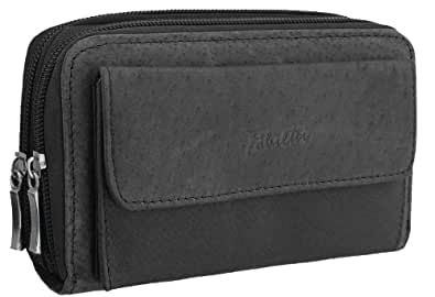 Fabretti Women's Leather Purse - Black
