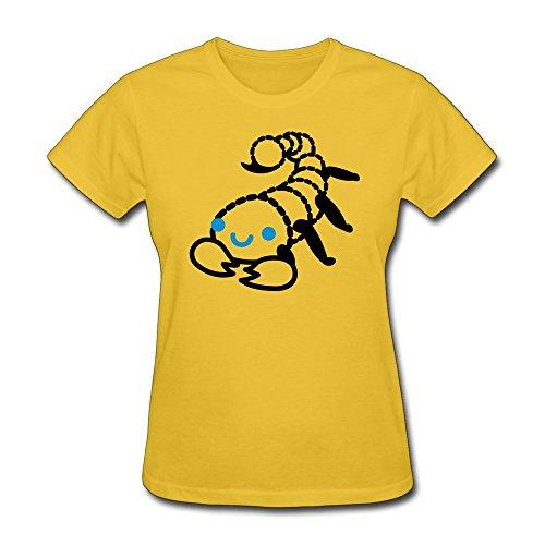 Youth Tshirt Fashion Scorpion Gold 100% Cotton front-617288